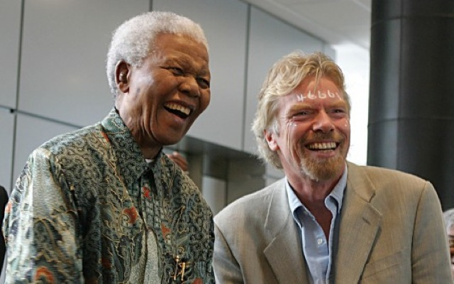 Ο Σερ Ρίτσαρντ Μπράνσον μιλά για τον Νέλσον Μαντέλα