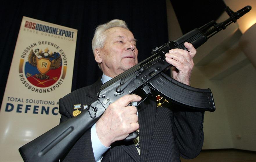 Η βιομηχανία των όπλων καλάσνικοφ