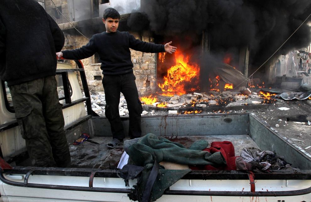 Συρία: Πάνω από 400 νεκροί από νέους βομβαρδισμούς του Άσαντ