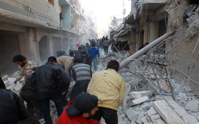 Τουλάχιστον 517 νεκροί σε δύο εβδομάδες στο Χαλέπι της Συρίας