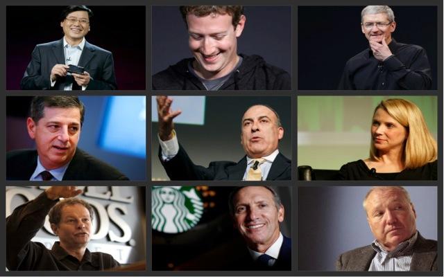 Τι είπανε εκτός εργασίας οι σημαντικότεροι CEOs το 2013;