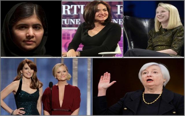 Επτά σημαντικές στιγμές για τις ισχυρές γυναίκες του 2013