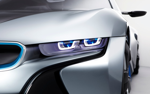 H νέα BMW i8 θα φωτίζει με λέιζερ!
