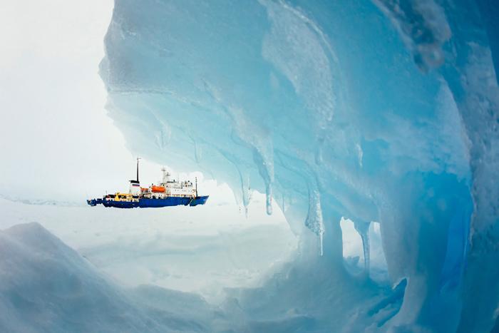 Τέλος στην Οδύσσεια των εγκλωβισμένων στην Ανταρκτική