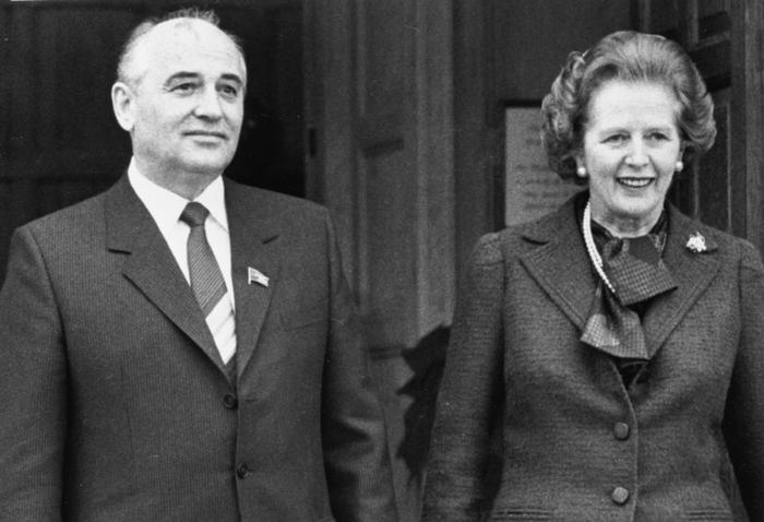 Η κρυφή «αδυναμία» της Θάτσερ στον Μιχαήλ Γκορμπατσόφ