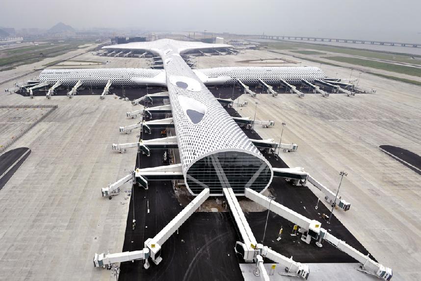 Ένα «διαστημικό» αεροδρόμιο που μοιάζει με ψάρι!