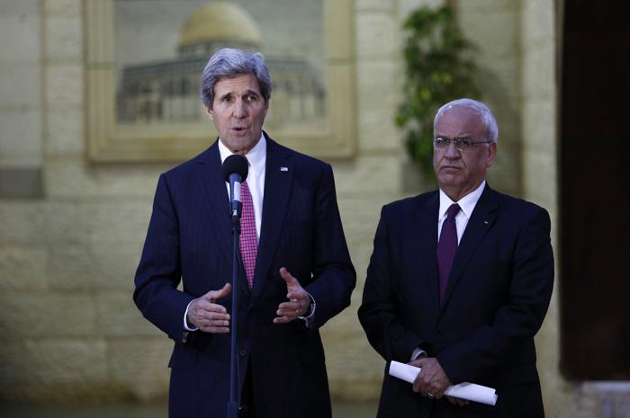 Σε εξέλιξη οι ειρηνευτικές διαπραγματεύσεις Ισραήλ-Παλαιστίνης