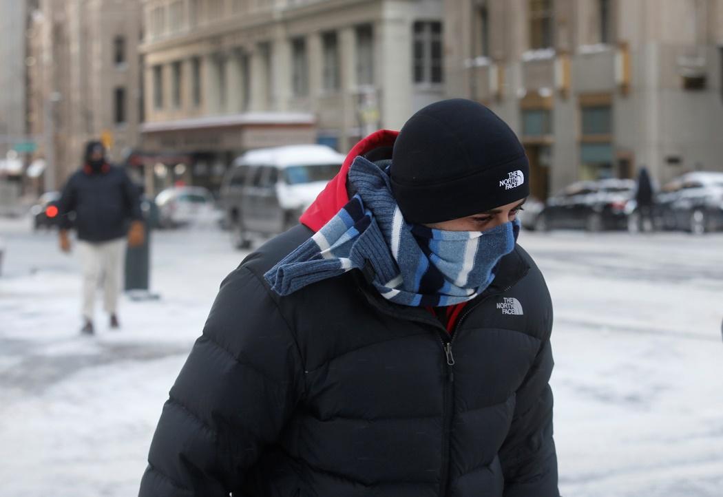 Στον πάγο…οι μισές ΗΠΑ