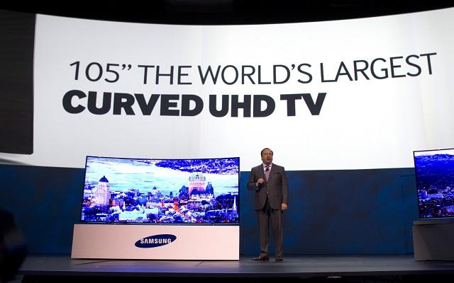 Νέα γενιά κυρτών τηλεοράσεων από την Samsung