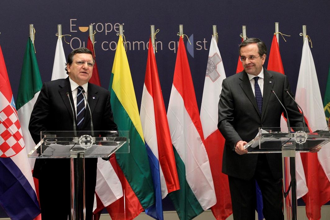 Μπαρόζο: «Η Κομισιόν στηρίζει την Ελληνική προεδρία»