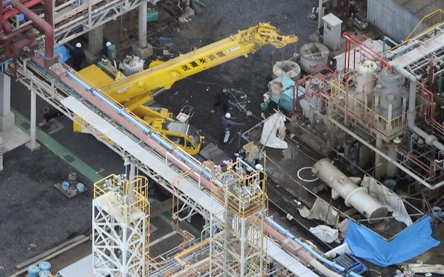 Έκρηξη σε χημικό εργοστάσιο της Mitsubishi