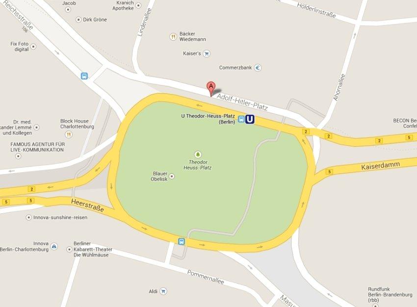 «Συγγνώμη» της Google για την «πλατεία Αδόλφου Χίτλερ»