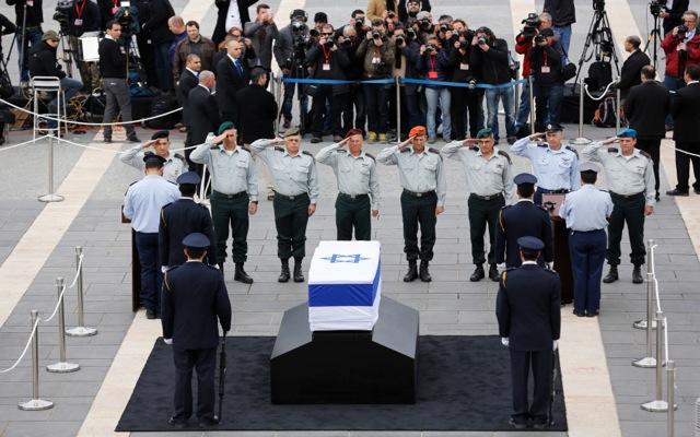 Φόρος τιμής από το Ισραήλ στον Αριέλ Σαρόν