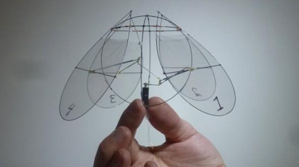 Ένα ρομποτικό «ορνιθόπτερο» που πετάει σαν… μέδουσα