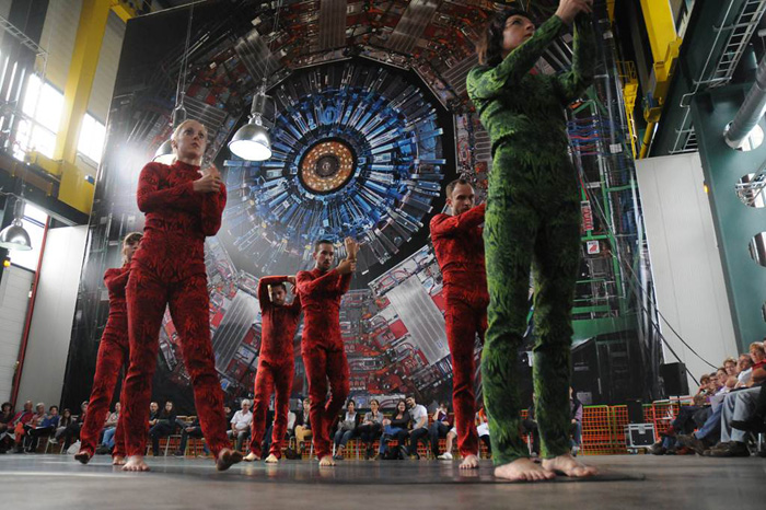 photo of dancers performing Quantum