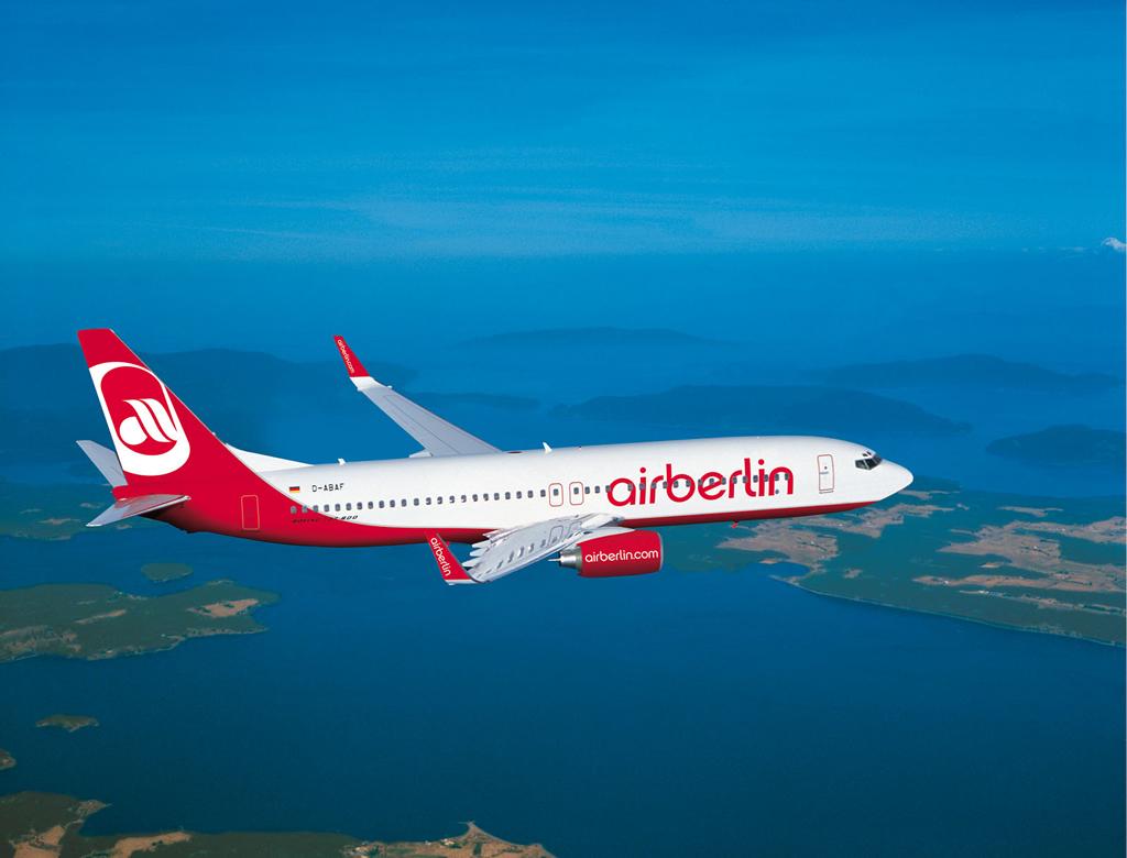 Airberlin: «Απόβαση» στα ελληνικά νησιά το 2014