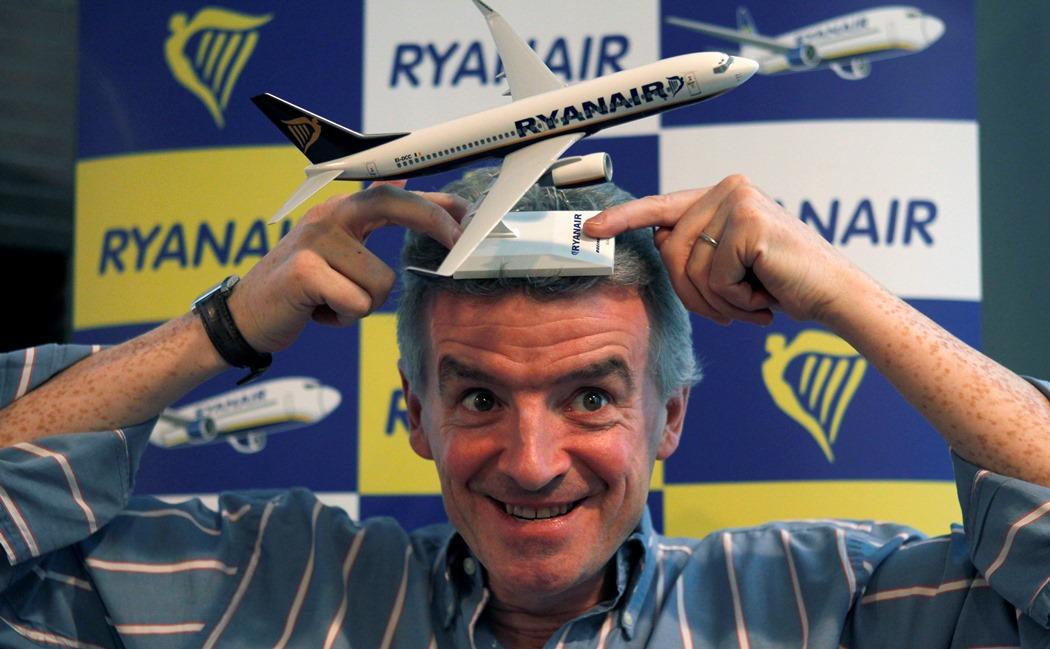 Η επιχειρηματική… «απογείωση» του Mr. Ryanair