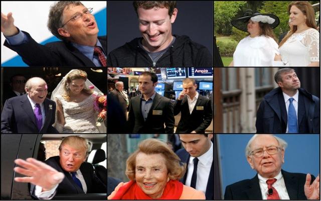 Οι μυστικές αλήθειες των πολυεκατομμυριούχων