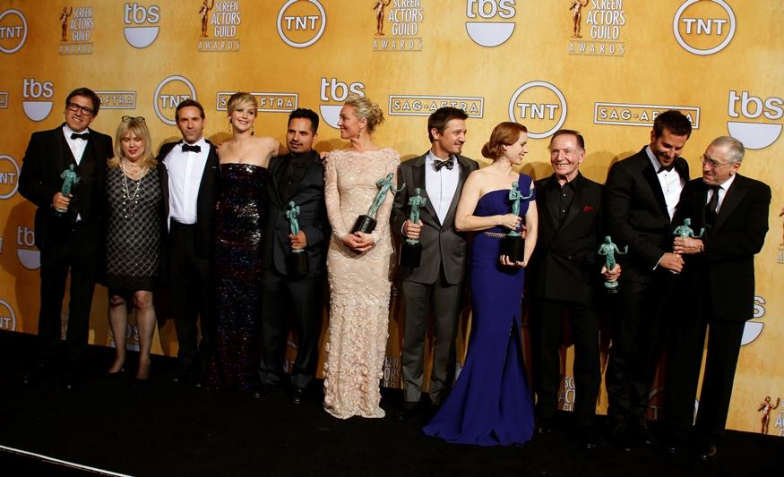 Οι ηθοποιοί ψήφισαν «American Hustle»