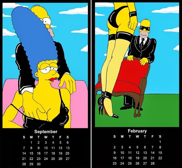 Οι Simpsons βγαίνουν από τα ρούχα τους!