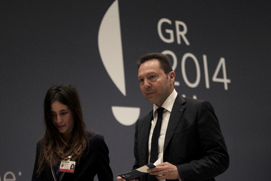 Τις προτεραιότητες της ελληνικής προεδρίας παρουσίασε ο Γ. Στουρνάρας