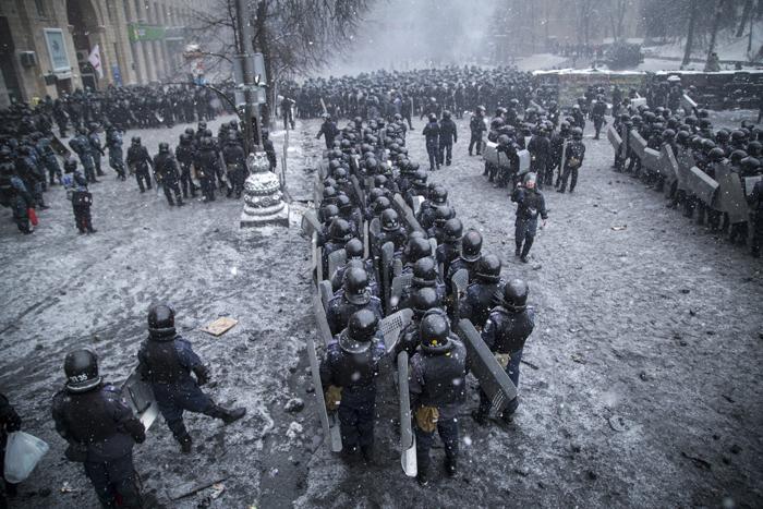 Ουκρανία: Για πέντε νεκρούς κάνει λόγο η αντιπολίτευση