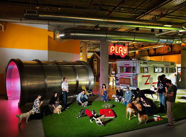 Δέκα εταιρείες μας παρουσιάζουν τα σουρεαλιστικά γραφεία τους