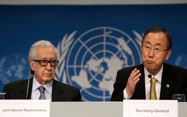 Απειλεί να φύγει η Συρία από την ειρηνευτική διάσκεψη «Γενεύη 2»