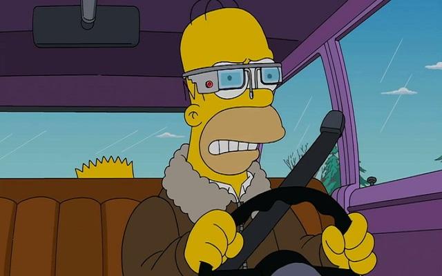 Οι Simpsons φοράνε Google Glass!