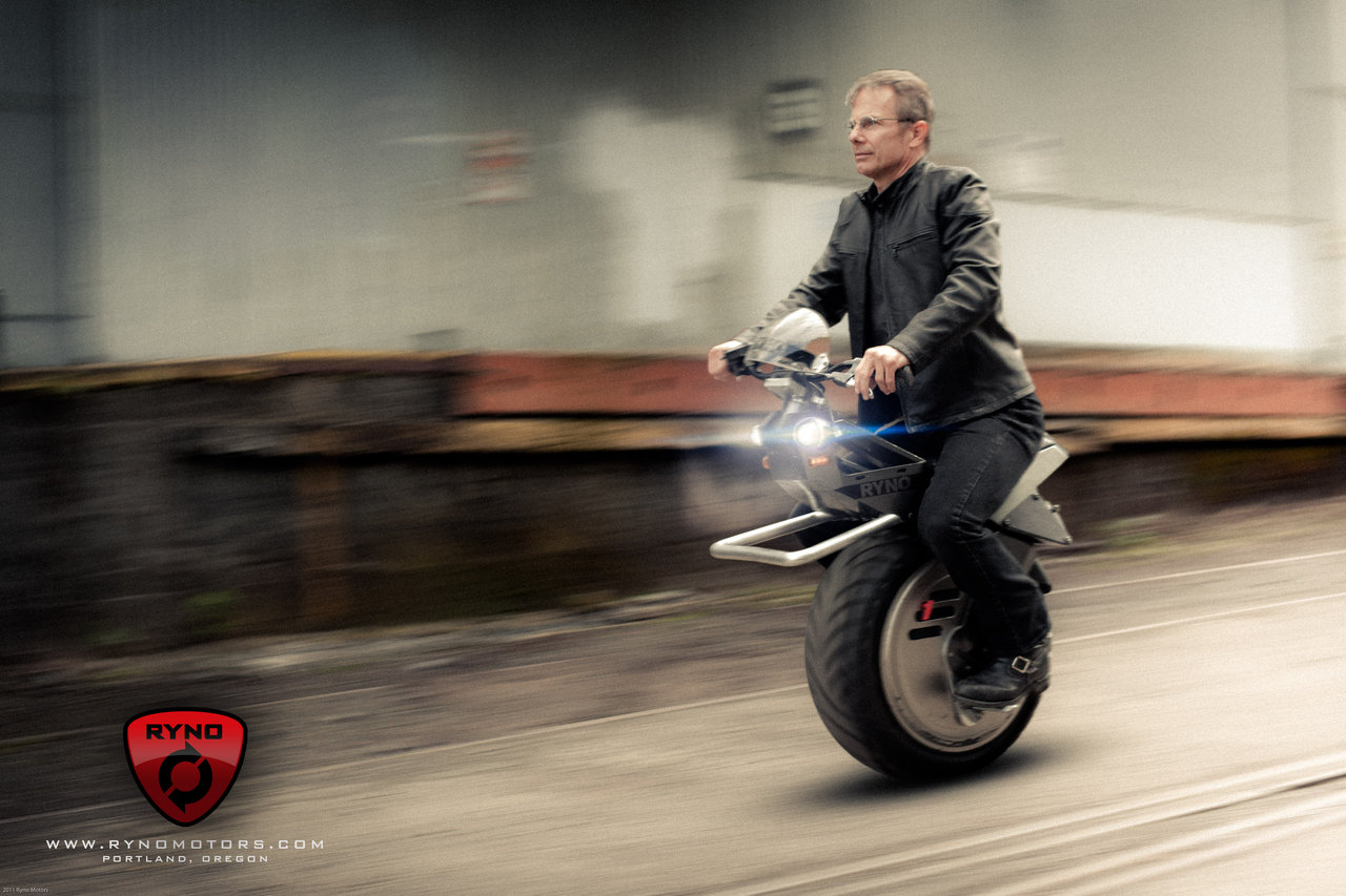 Ryno: Ο easy rider με τη μία ρόδα