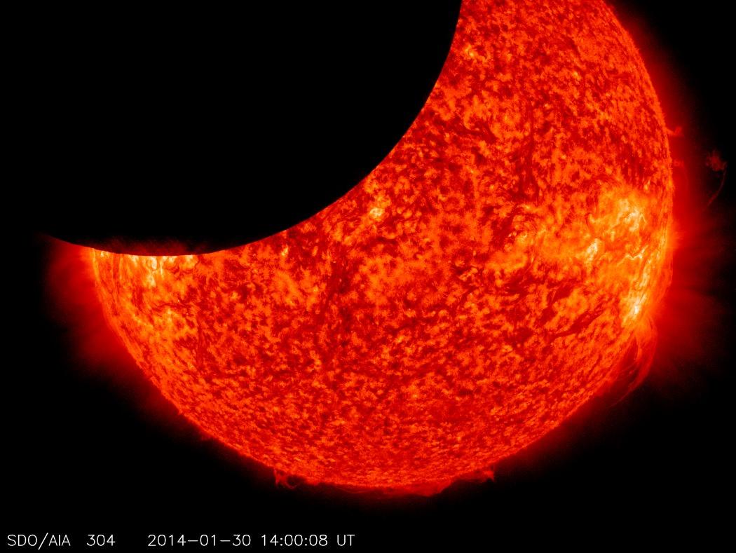 Βίντεο: Η NASA κατέγραψε την μεγαλύτερη έκλειψη ηλίου