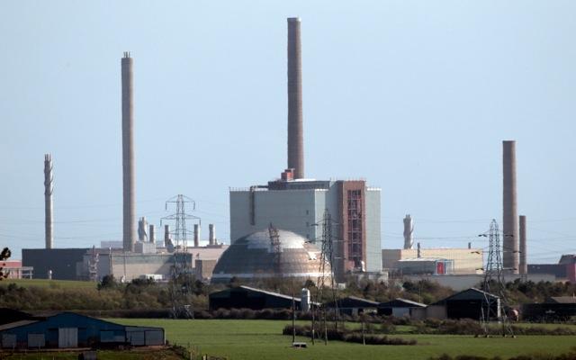 Υψηλά επίπεδα ραδιενέργειας στον πυρηνικό σταθμό του Σέλαφιλντ