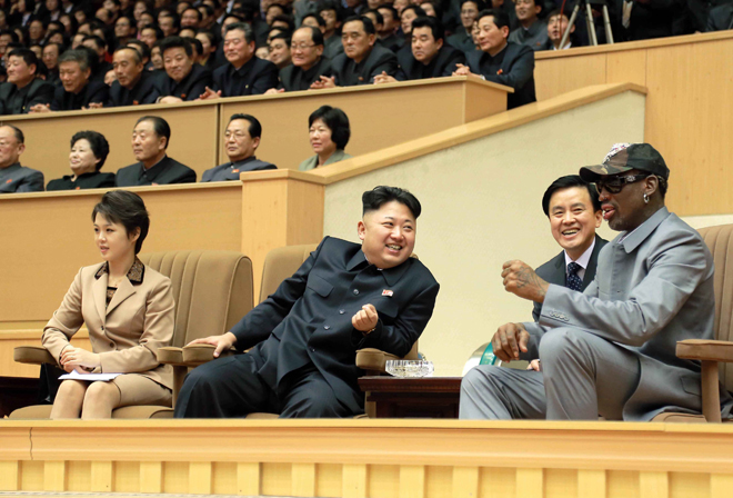 Ντένις Ρόντμαν προς Βόρεια Κορέα: «Πάρτε εμένα ως όμηρο»