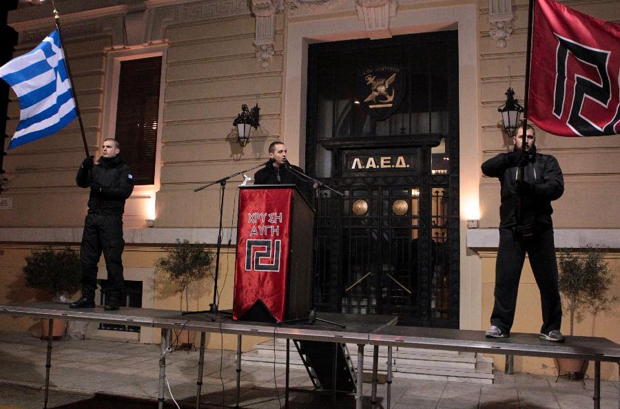 Την… Εθνική Αυγή ανακοίνωσε ο Ηλίας Κασιδιάρης