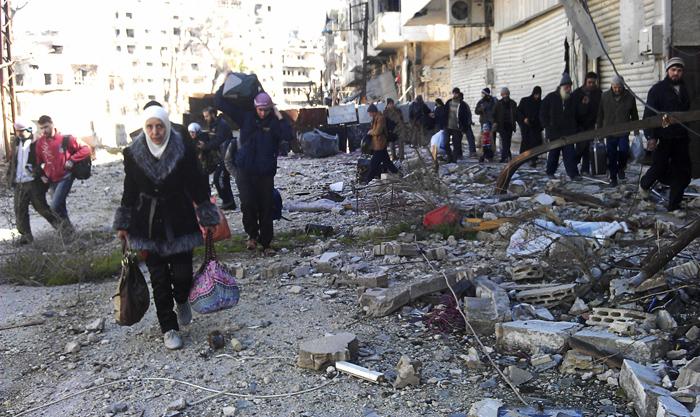 Άρχισε η «έξοδος» από τη Χομς