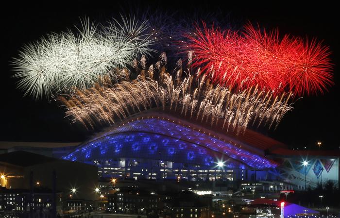 Επίσημη πρώτη των 22ων Χειμερινών Ολυμπιακών Αγώνων