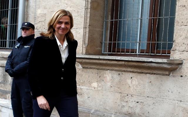 Στο δικαστήριο η πριγκίπισα Κριστίνα της Ισπανίας