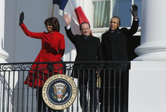 Δέσμευση Ομπάμα-Ολάντ για αντιμετώπιση των «μεγάλων προκλήσεων»