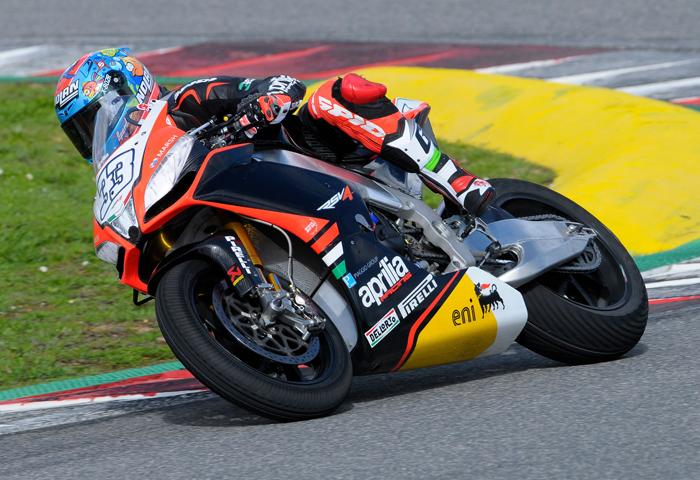 Ξεκίνημα των πρώτων δοκιμών του Superbike 2014 για την Aprilia