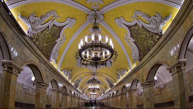 Οι ομορφότεροι σταθμοί μετρό της Ευρώπης