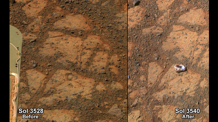 Λύθηκε το μυστήριο του «ντόνατ του πλανήτη Άρη»