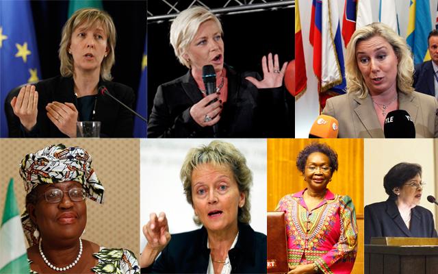 Επτά γυναίκες στην «ηλεκτρική καρέκλα» του υπουργού Οικονομικών
