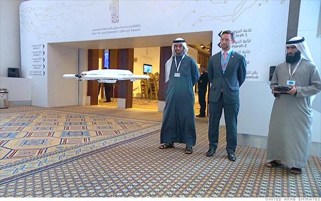 Παράδοση εγγράφων του Δημοσίου με drones;
