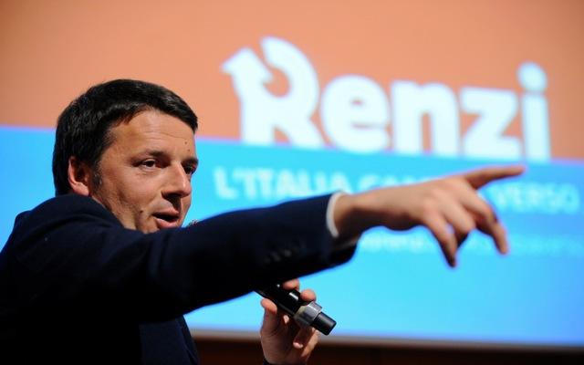 Ώρα Ρέντσι στην Ιταλία