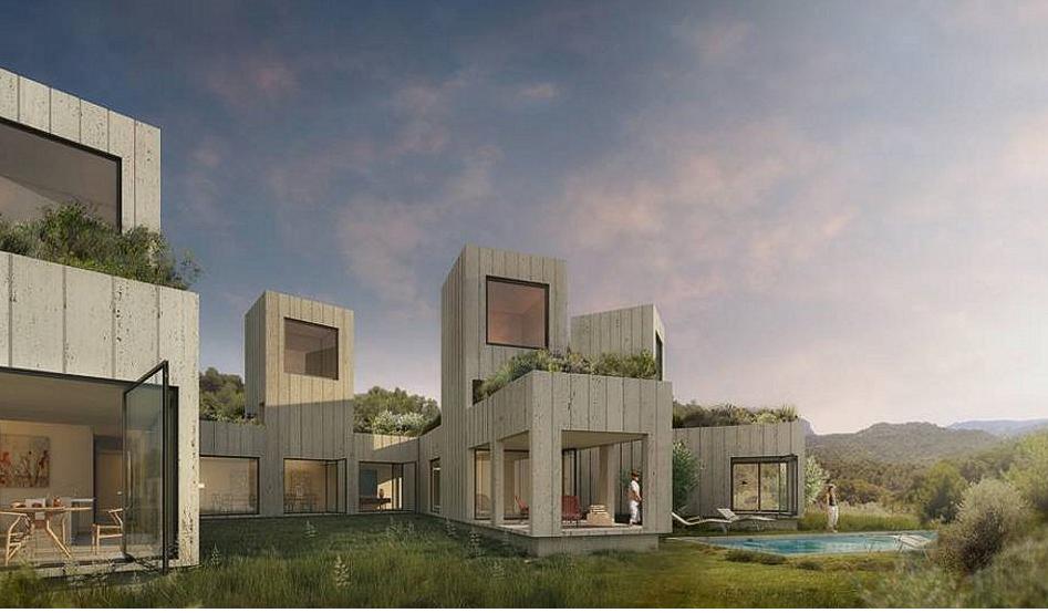 Τα ονειρεμένα σπίτια στο δάσος