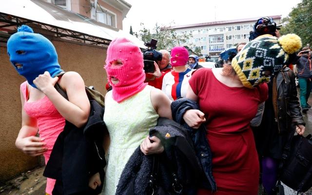 Συνελήφθησαν εκ νέου δύο μέλη των Pussy Riot