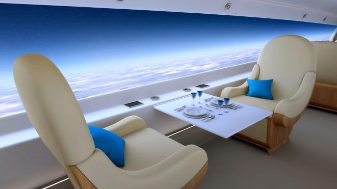 Το υπερηχητικό αεροσκάφος χωρίς… παράθυρα