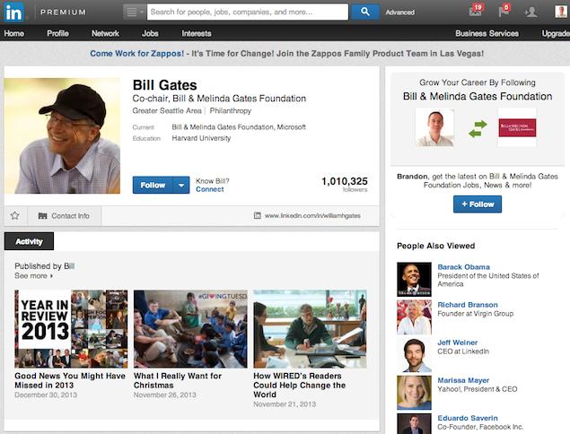 Το LinkedIn σε βάζει στους διαμορφωτές γνώμης