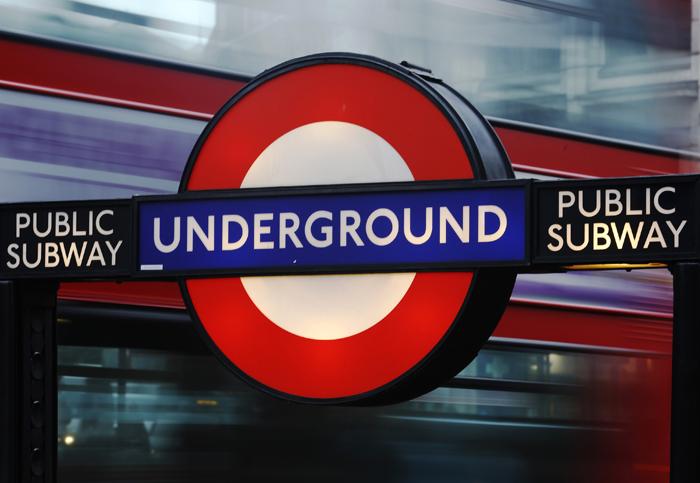 Ελληνικά ποιήματα στο μετρό του Λονδίνου