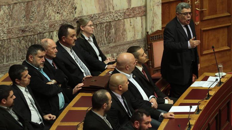 Στην Βουλή η δικογραφία για τους εννέα χρυσαυγίτες βουλευτές